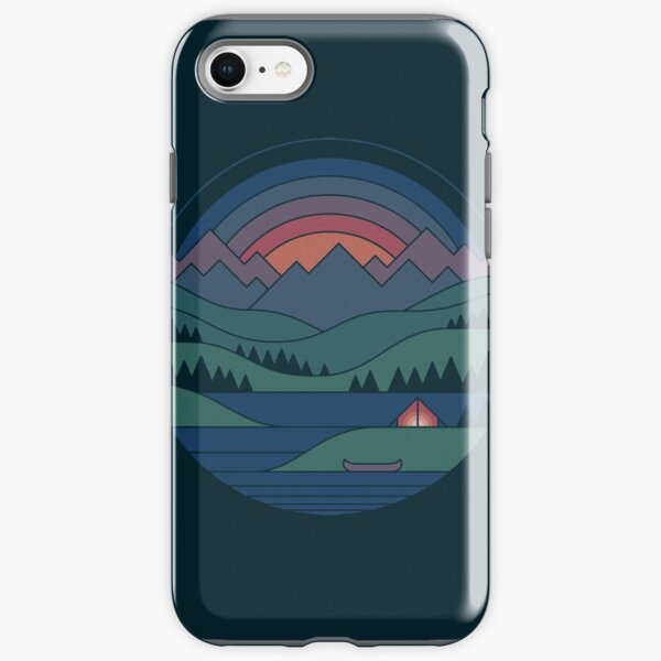 The Lake at Twilight iPhone Tough Case