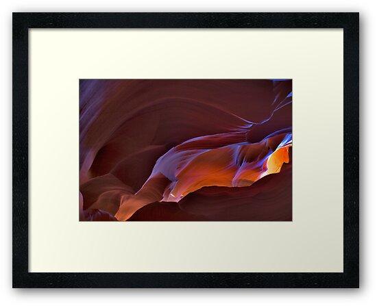 Paige AZ Upper Antelope Canyon  by photosbyflood