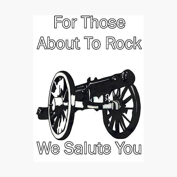 AC / DC pour ceux sur le point de Rock Impression photo