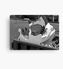 Last Ride For Claus  Canvas Print