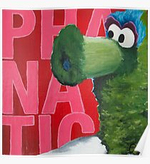 Philadelphia Phanatic Painting Poster