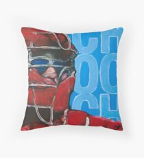 Carlos Ruiz Painting Throw Pillow