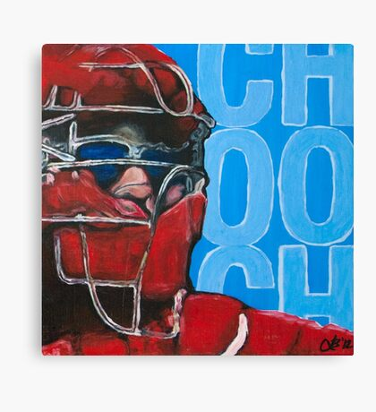 Carlos Ruiz Painting Canvas Print