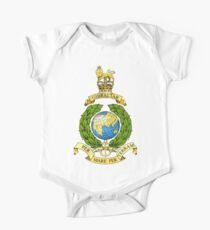 The Corps of Royal Marines Logo One Piece - Short Sleeve
