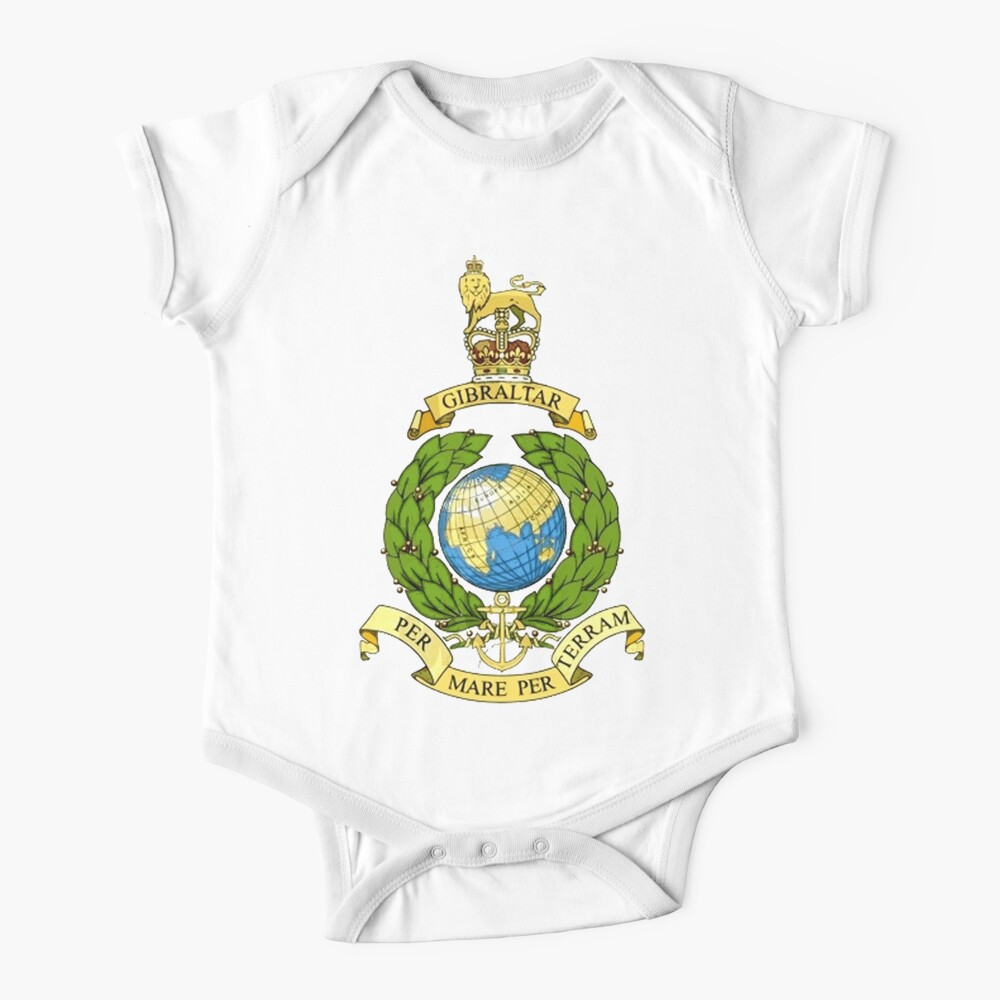 The Corps of Royal Marines Logo Baby One-Piece