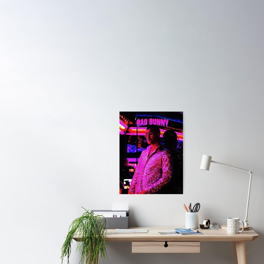 Stil Bad Bunny Tour 2019 Bedakan Poster
