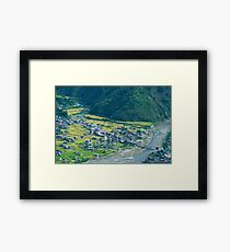 mountain community Framed Print