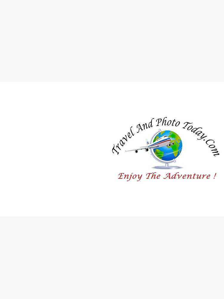 Travel And Photo Today.Com Large Logo - Black & Red Letter by BWBConcepts