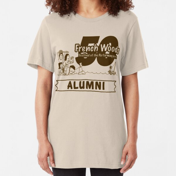 French Woods 50th Anniversary Alumni T-shirt Slim Fit T-Shirt
