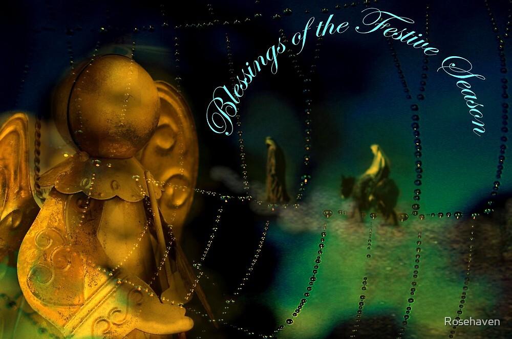 """Blessings of the Festive Season ..."" by Rosehaven"