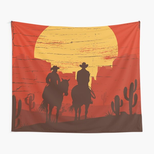Cowboys of the Wild West - Journey Tapestry