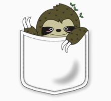 sloth in my pocket Baby Tee