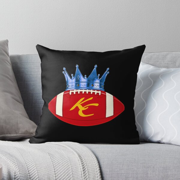 Kansas City Sports Hybrid Fan Design Throw Pillow