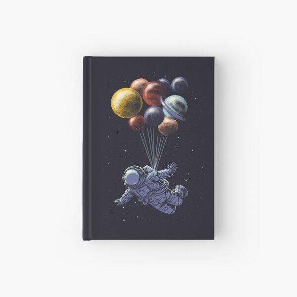 Space Travel Hardcover Journal