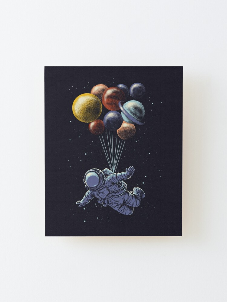 Alternate view of Space Travel Mounted Print