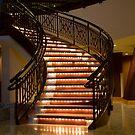 Stair Lights by Donna Adamski