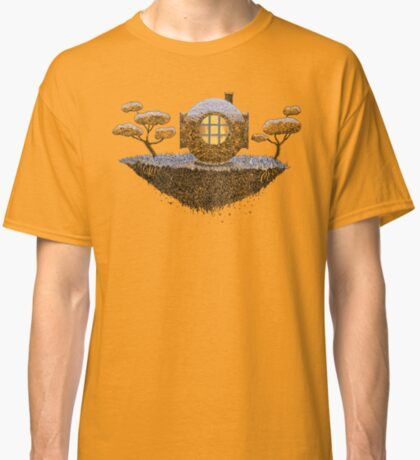 Floating Diver Home Sweet Home Classic T-Shirt