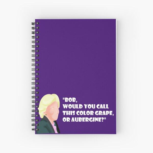 Grape Discussion Spiral Notebook