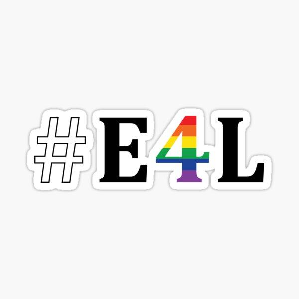 E4L Sticker
