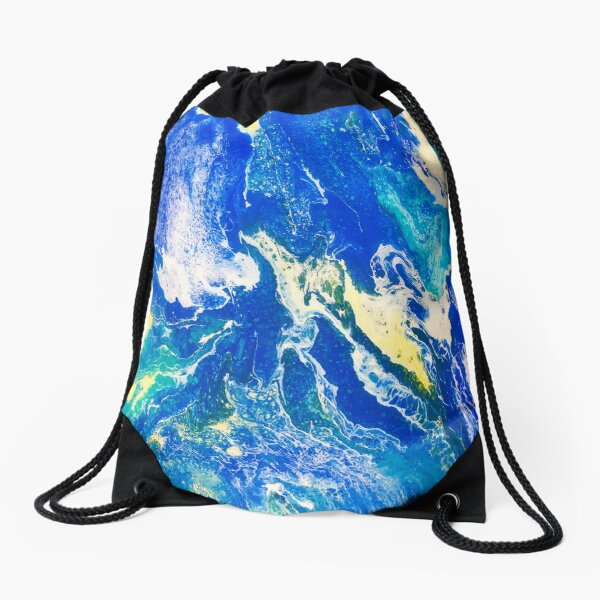 Beachhouse Drawstring Bag