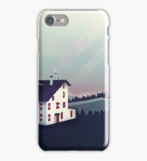 Castle in the Mountains iPhone Case/Skin