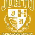 Sticker! Johto University by merimeaux