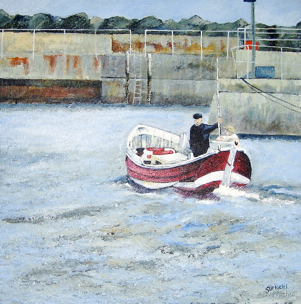 Rose of England, Staithes by Sue Nichol