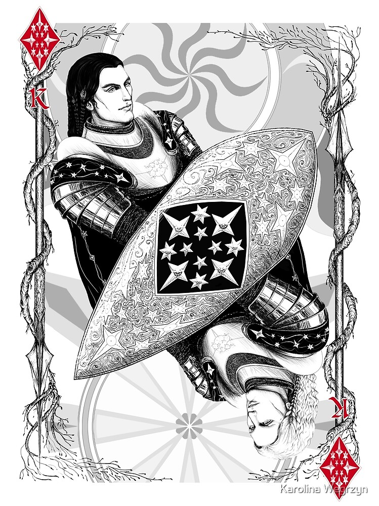 King of Diamonds by Karolina Wegrzyn