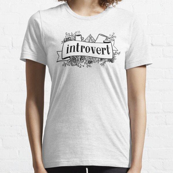 Introvert Banner Essential T-Shirt