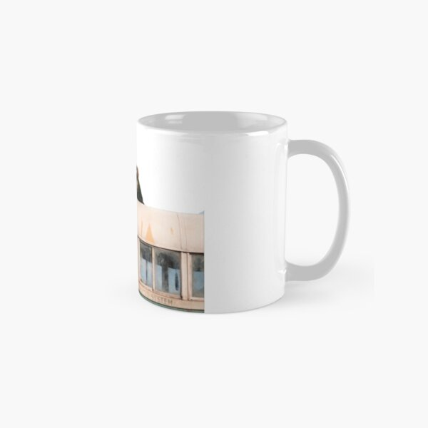 """""""Happiness is only real when shared"""" Classic Mug"""
