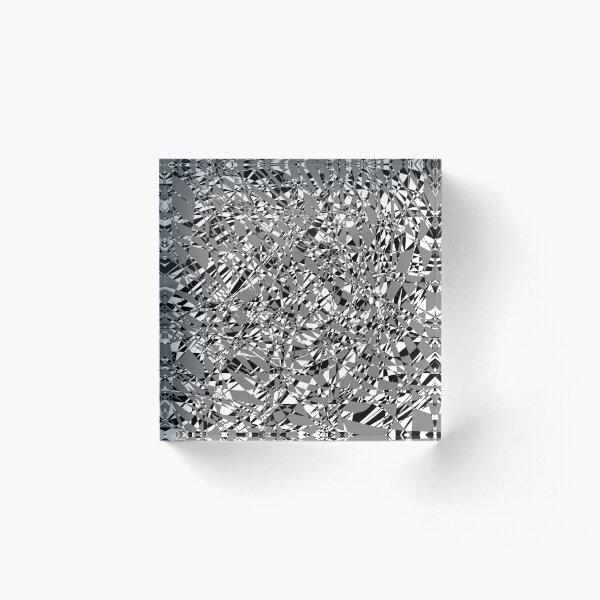 Poldica (Gray/Black) Acrylic Block