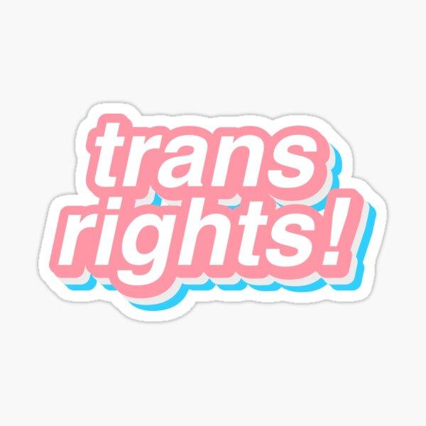 droits trans! Sticker