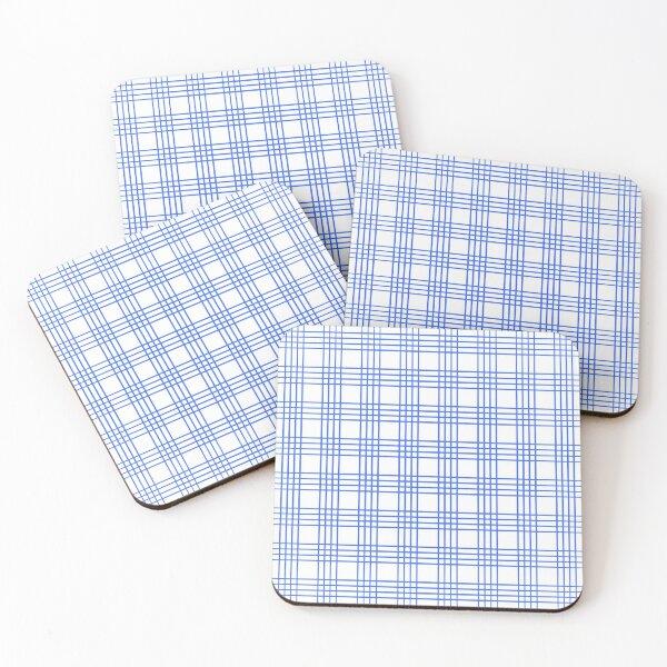 Kuhati (Blue) Coasters (Set of 4)