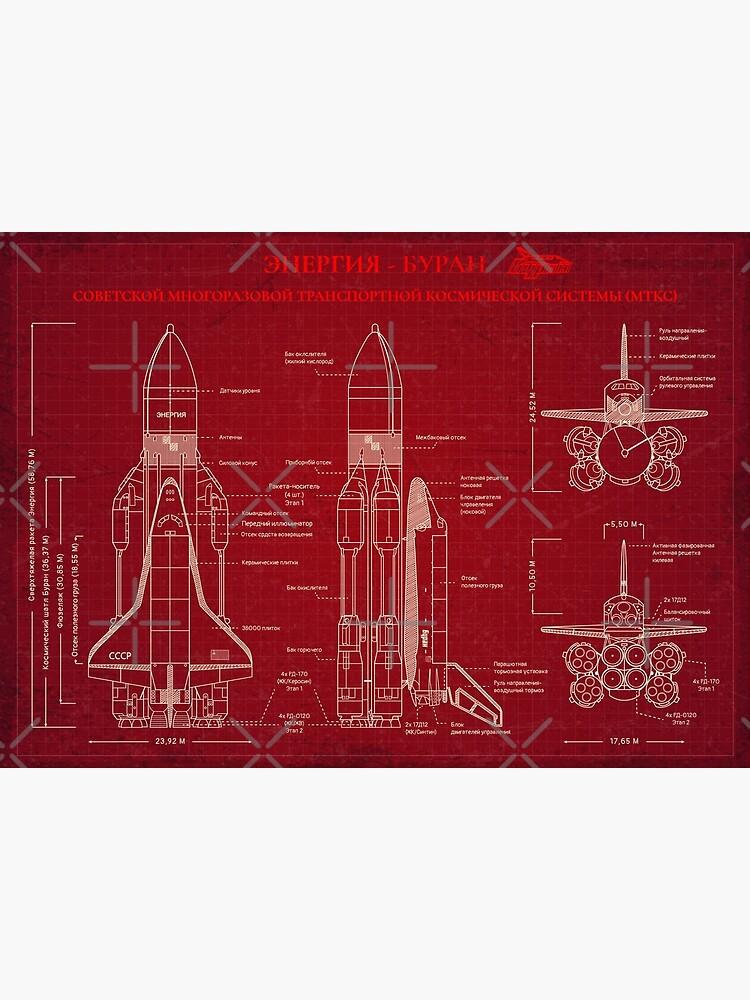 BURAN-ENERGY (Red Print) - Russian Version by BGALAXY
