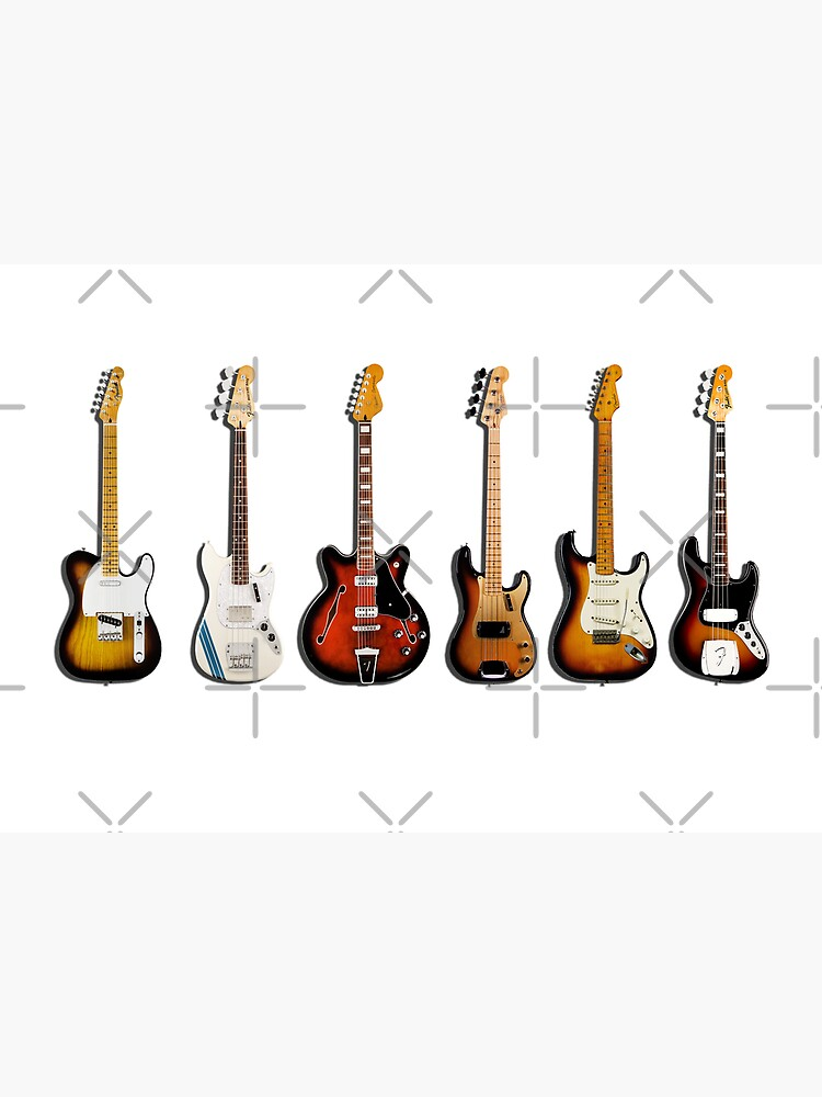 The Classic Guitar Collection by rogue-design