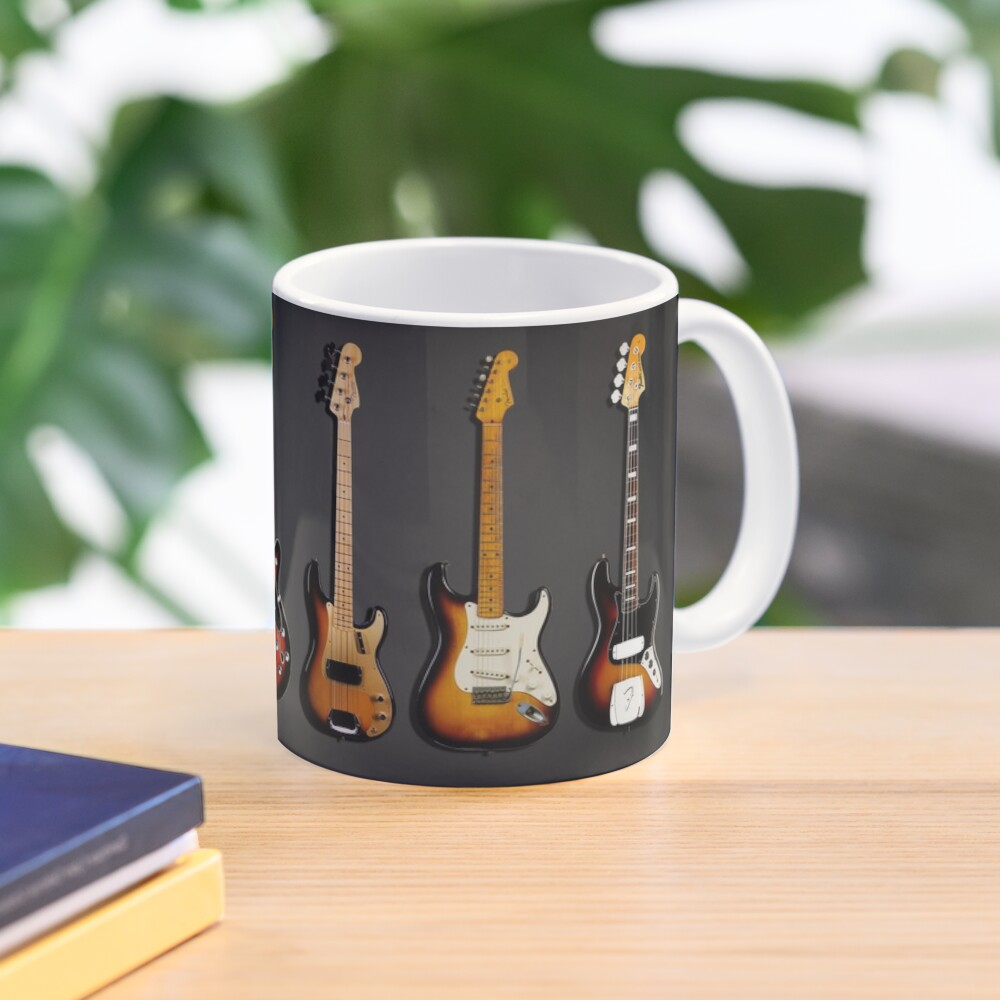 The Classic Guitar Collection Mug