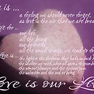 Love is ...  by TriciaDanby