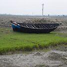 Abandoned Boat by Mahesh Kumar