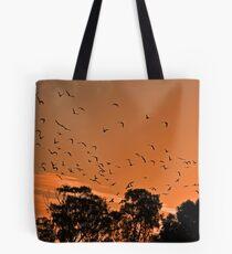 Corella Sunset Tote Bag