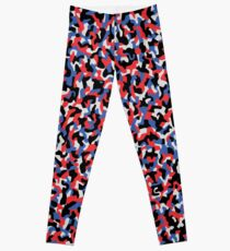 Camouflage pattern - Berlin subway train seat  anti graffiti pattern design  Leggings