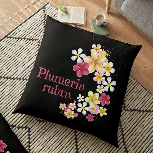 Plumeria Tropische Exotische Pflanze Blume Blüten Bodenkissen