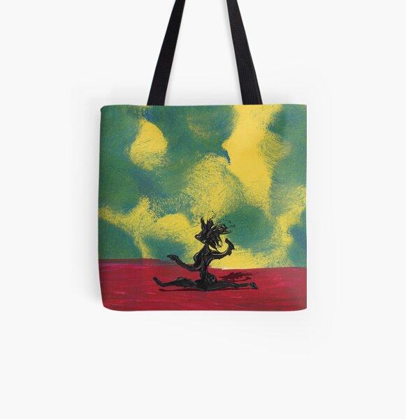 Dance Art Dancer Allover-Print Tote Bag