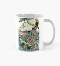 THE BLACK-BROWED MAID STOOD UPON THE BANK AS THE RED SHIP SAILED AWAY FROM NOVGOROD from the story VASILY THE TURBULENT in The Russian Story Book Classic Mug