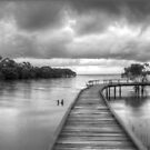 Storm clouds at high tide by Keiran Lusk