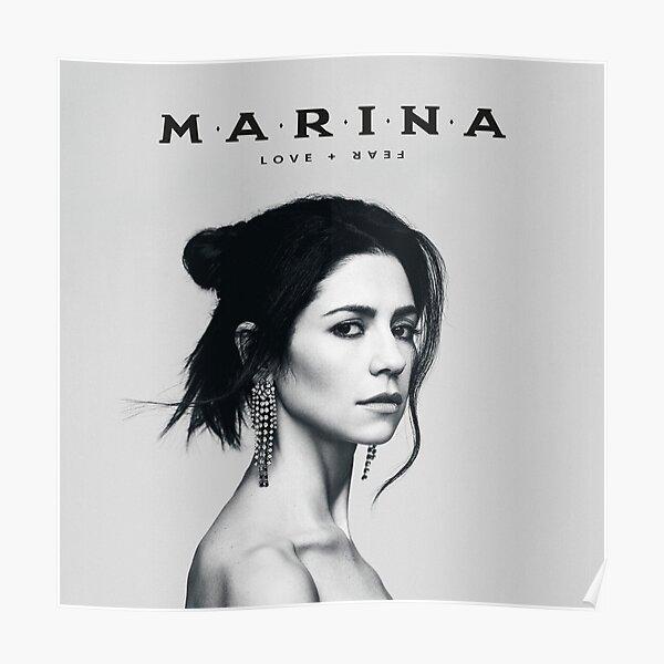 MARINA - LOVE + FEAR Poster