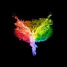 Phoenix Firebird Regenbogen von AbbottDesigns