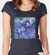 """The Violet"" Women's Fitted Scoop T-Shirt"