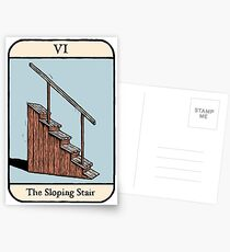 The Sloping Stair Postcards