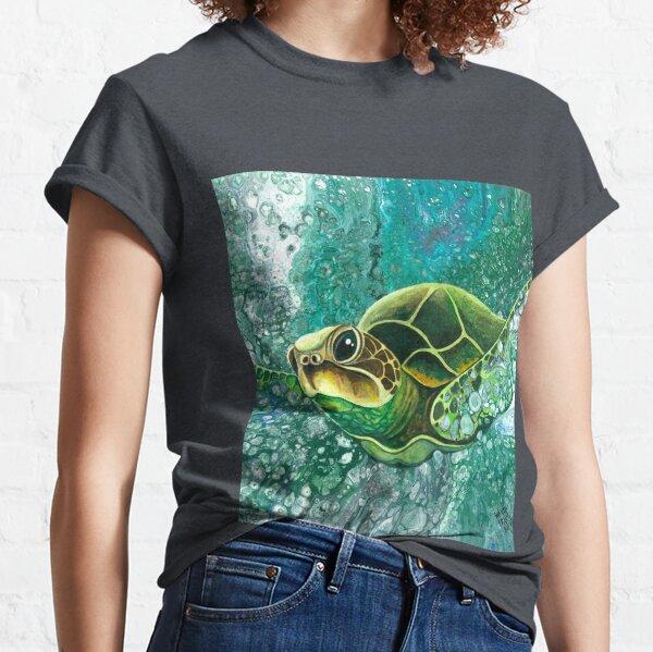 Sea Turtle - Deep Sea Dive Classic T-Shirt