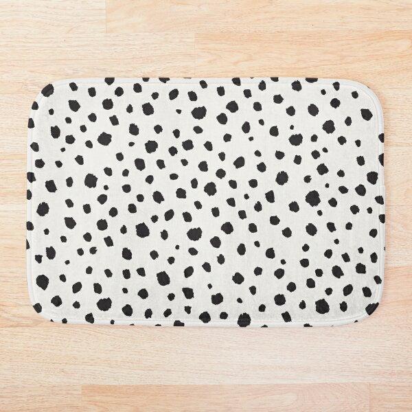 Spots Animal Print Bath Mat